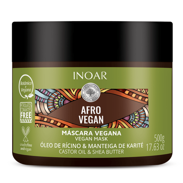 Afro Vegan treatment mask